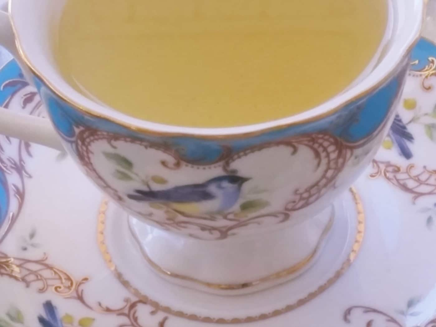 enjoy a cup of green tea!