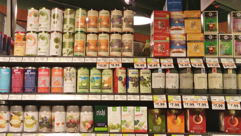 supermarket tea variety