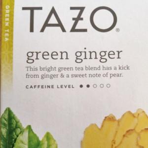 tazo ginger